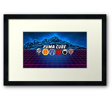 Puma Cube (Character Select) Framed Print
