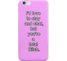 Pink Bitch iPhone Case/Skin