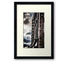 Dramatic Sky color splash Framed Print