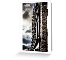 Dramatic Sky color splash Greeting Card