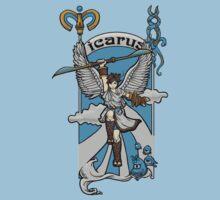 Icarus Nouveau by Karen  Hallion