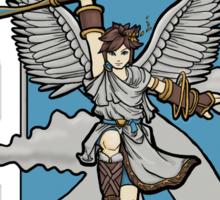 Icarus Nouveau Sticker