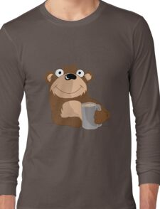 Beer Bear Long Sleeve T-Shirt
