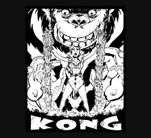 Kong loves cheesecake B&W Men's Baseball ¾ T-Shirt
