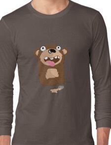 Drunk Bear Long Sleeve T-Shirt