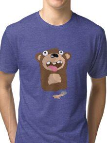 Drunk Bear Tri-blend T-Shirt