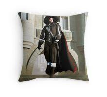 Comte de Rochefort Throw Pillow