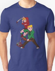 Red Riding Hood and Robin Hood: The Zombie Killing Hoods T-Shirt