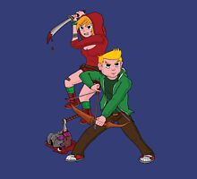 Red Riding Hood and Robin Hood: The Zombie Killing Hoods Unisex T-Shirt
