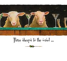 "Will Bullas card ""three sheeps to the wind"" by Will Bullas"