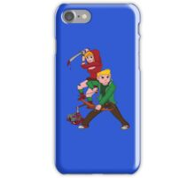 Red Riding Hood and Robin Hood: The Zombie Killing Hoods iPhone Case/Skin