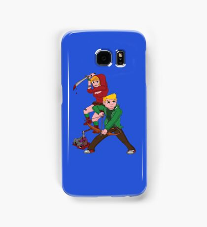 Red Riding Hood and Robin Hood: The Zombie Killing Hoods Samsung Galaxy Case/Skin