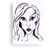LADY GAGA BORN THIS WAY Canvas Print