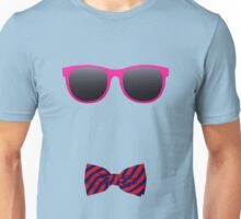 Pink sunglasses and Bowtie Unisex T-Shirt