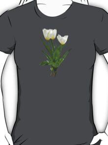 Backlit White Tulip T-Shirt