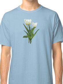 Backlit White Tulip Classic T-Shirt