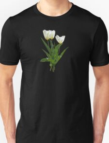 Backlit White Tulip T-Shirt