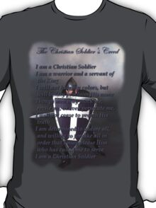 The Christian Soldier's Creed T-Shirt T-Shirt