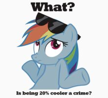 Is being 20% cooler a crime? by Bimodalmetal6