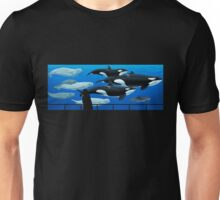 Through the Looking Glass Custom Design Unisex T-Shirt