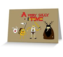 A Very Silly Time Greeting Card