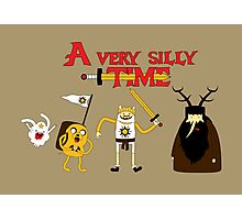 A Very Silly Time Photographic Print