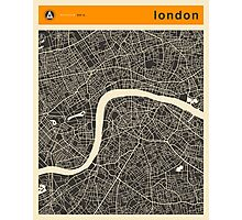 LONDON MAP Photographic Print