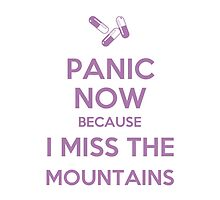 I Miss The Mountains - Panic Now by musicalproducts