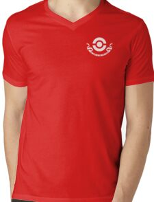 Pokemon Center Employee Mens V-Neck T-Shirt