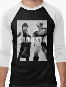 GANGSTA X-MEN (JUBILEE & WOLVERINE) Men's Baseball ¾ T-Shirt