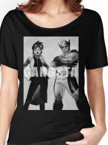 GANGSTA X-MEN (JUBILEE & WOLVERINE) Women's Relaxed Fit T-Shirt