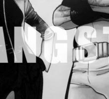 GANGSTA X-MEN (JUBILEE & WOLVERINE) Sticker