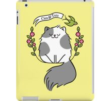 Cats And Tats - RB Tattoo Design Challenge iPad Case/Skin