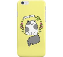 Cats And Tats - RB Tattoo Design Challenge iPhone Case/Skin