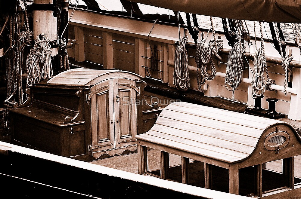 On The Deck. by Stan Owen