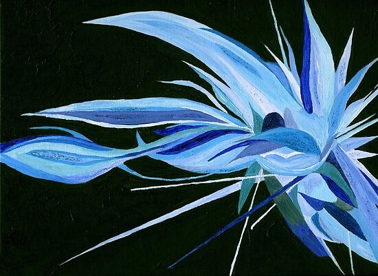Blue Crystal  Persuasion   by Anne Gitto