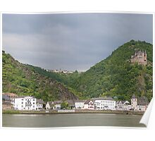 The Rhine Valley. Poster