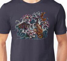 Koi Crazy Japanese Koi Art Unisex T-Shirt