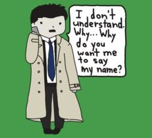 Castiel and His Voicemail by teecup