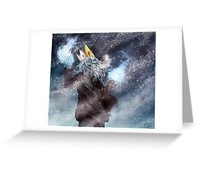 Rise of the Ice King Greeting Card