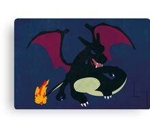 Shiny Charizard Canvas Print