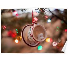 Hot Chocolate with Marshmallows Poster