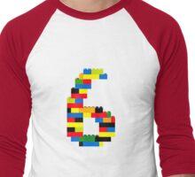 6 Men's Baseball ¾ T-Shirt