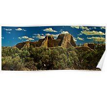 Aztec National Park Poster