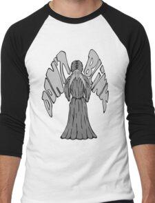 Don't Blink Weeping Angel Men's Baseball ¾ T-Shirt