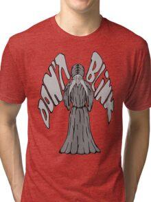 Don't Blink Weeping Angel Tri-blend T-Shirt