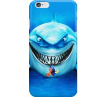 Nemo Clown Fish and White Shark iPhone Case/Skin