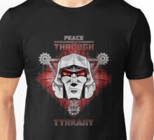 Peace Through Tyrrany Unisex T-Shirt