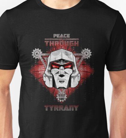 Peace Through Tyrrany Unisex T-Shirt