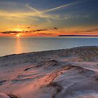 Sunset on Sleeping Bear Dunes National Lakeshore by DArthurBrown